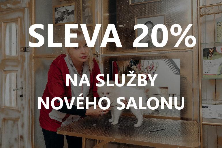SLEVA 20% na naše služby